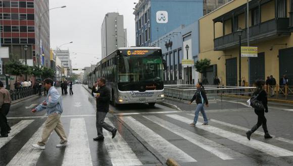 Contará con 100 buses más. (Martín Pauca)