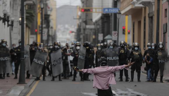 El Consejo de la Prensa Peruana emitió un pronunciamiento en el segundo día de manifestaciones de protesta por la vacancia de Martín Vizcarra. (Foto: GEC)