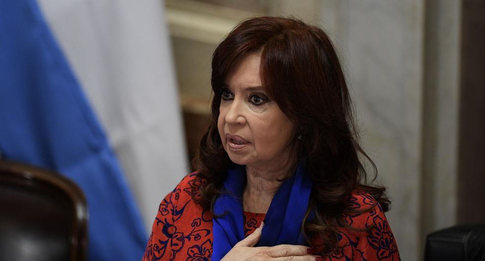 La senadora y vicepresidenta de Argentina Cristina Kirchner. ( JUAN MABROMATA / AFP).