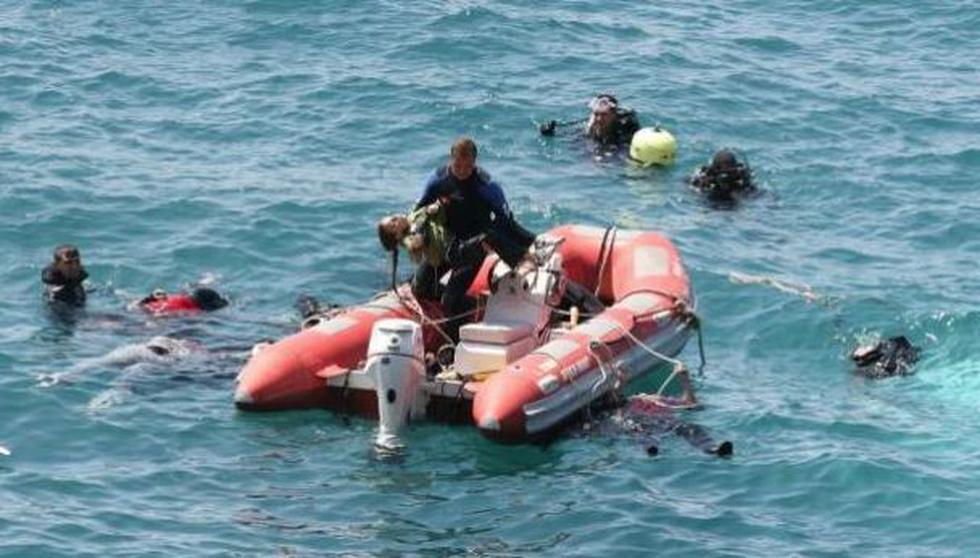 El accidente ocurrió en la costa de Zuwara, en Libia (GETTY)
