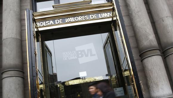 El indicador S&P/BVL Perú General, el más representativo de la bolsa, subía un 0.55%. (Foto: GEC)