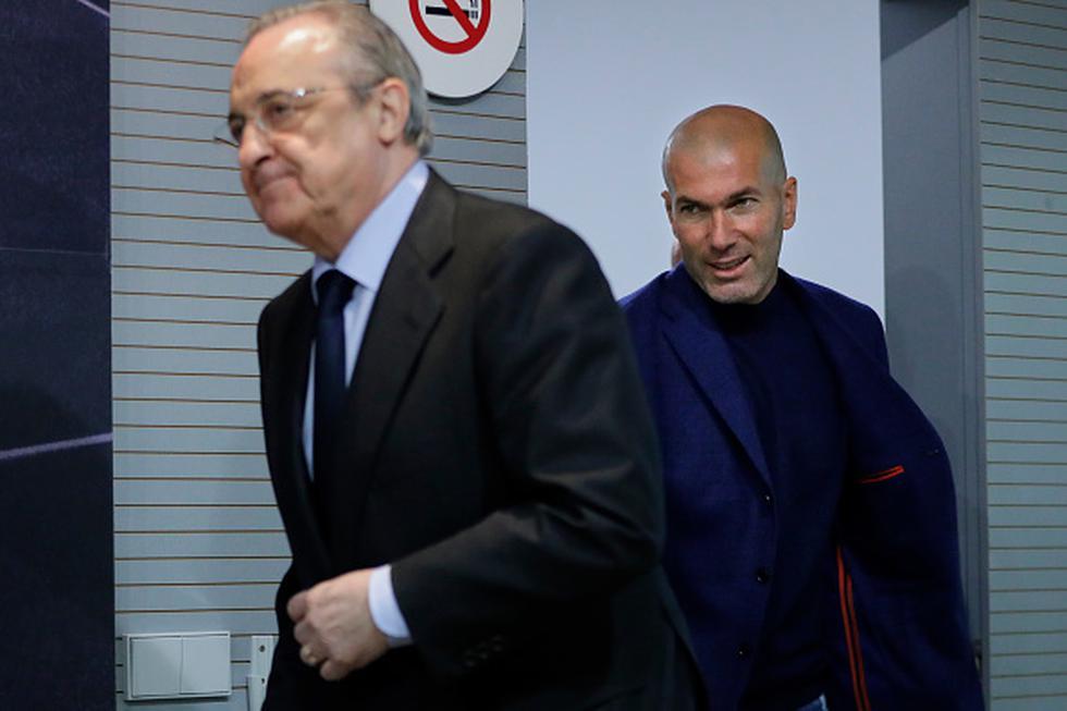 Zinedine Zidane renunció al Real Madrid tras conquistar la Champions League por tercera vez consecutiva con el club merengue en Kiev.  (GETTY IMAGES)