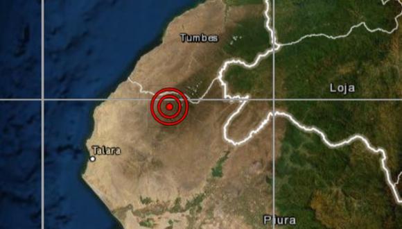 La Dirección de Hidrografía y Navegación de la Marina de Guerra del Perú descartó que el sismo genere una alerta de tsunami. (Foto: IGP)