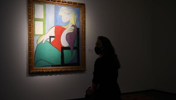 La misma pintura fue adquirida hace solo ocho años por su actual propietario en una subasta de Londres por 28,6 millones de libras, unos 44,8 millones de dólares, menos de la mitad del precio ofrecido el jueves. (Foto: DANIEL LEAL-OLIVAS / AFP)