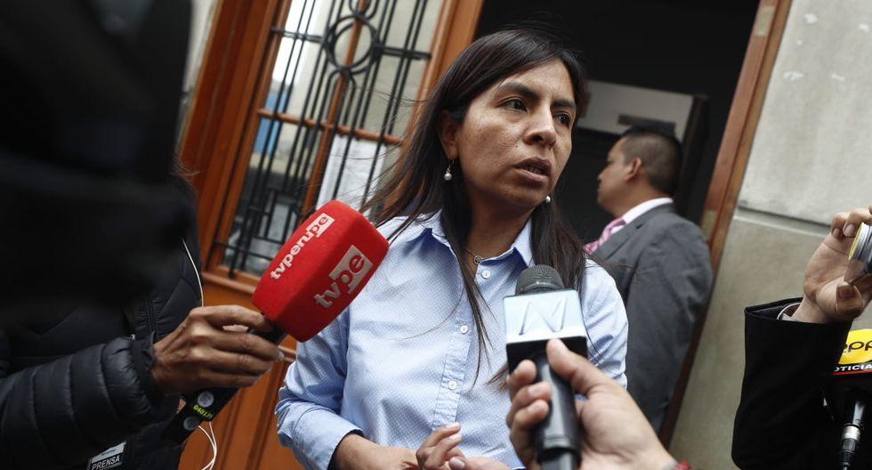 "Giulliana Loza afirmó que fiscales están ""desesperados"" por querer ""perjudicar"" a Keiko Fujimori. (Foto: GEC)"