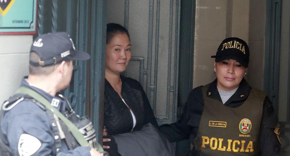 """Giuliana Loza señaló que en la audiencia de apelación de Keiko Fujimori buscarán que """"la justicia prevalezca"""".  (GEC)"""