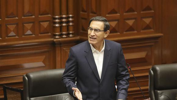 Congreso decidió hoy la vacancia del presidente Martín Vizcarra (Presidencia).