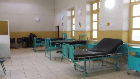 SIN PACIENTES. Galenos entregaron el hospital Belén. (Nadia Quinteros)