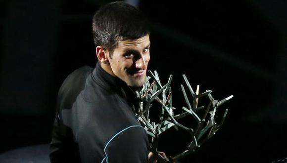 Rápido y furioso. 'Nole' venció a Ferrer en la final de París. (AP)