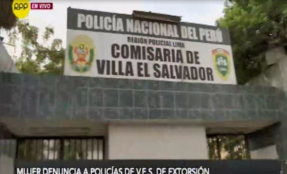 La mujer denunció que los agentes de la Depincri de Villa El Salvador le habrían solicitado S/ 20.000 (Captura: RPP Noticias)