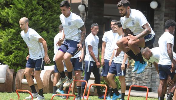 Alianza Lima cumplió su tercer día de práctica y Pablo Bengoechea habló de su plantel. (Foto: Alianza Lima)