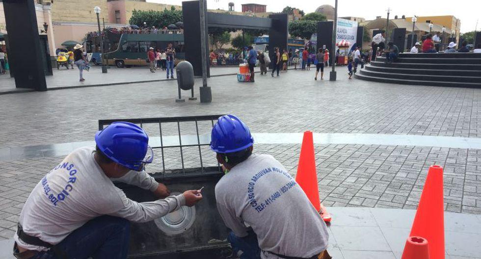 Con las nuevas luminarias, el alumbrado público en la Alameda Chabuca Granda aumentará en un 200%. (Foto: Municipalidad de Lima)