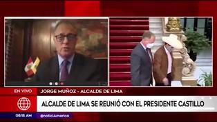 """Muñoz sobre rondas urbanas: """"El presidente me aseguró que no se ejecutará en Lima"""""""