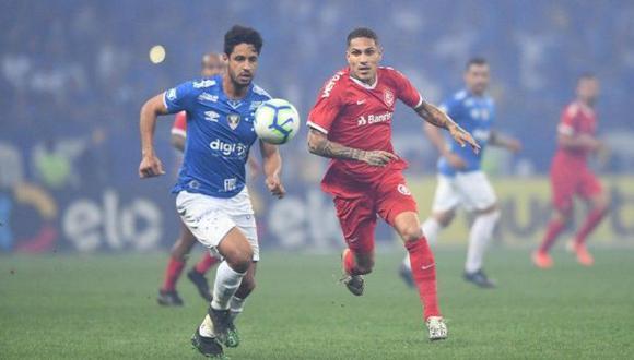 Internacional quiere contar con Paolo Guerrero para el duelo de vuelta de semifinales de la Copa de Brasil. (Foto: SC Internacional)