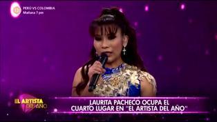 El Artista del Año: Laurita Pacheco queda en el cuarto lugar