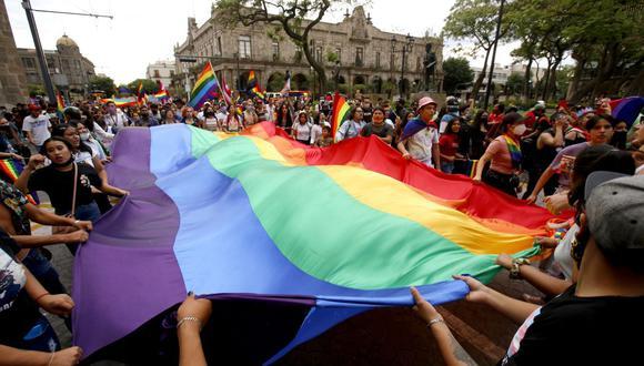 El matrimonio igualitario se abre camino en México y ahora 23 de sus 32 estados lo aprueban. (Foto: Ulises Ruiz / AFP)
