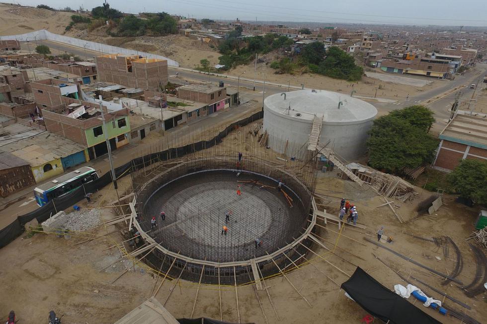 Proyecto de agua potable (Foto: Andina)
