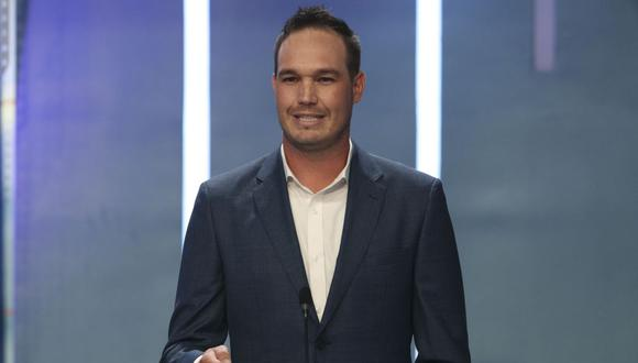 George Forsyth es el candidato presidencial de Victoria Nacional. (Foto: América TV)