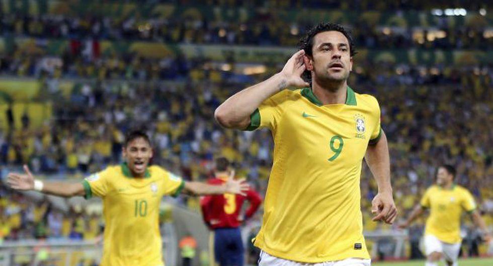 Fred marcó un doblete ante España. (EFE)