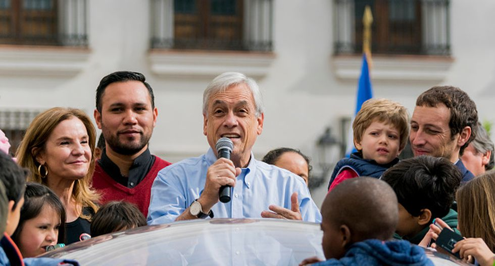 Sebastián Piñera. (Getty)
