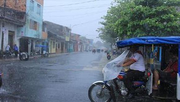 Senamhi informó que esta precipitación se produce por el ingreso de humedad proveniente de la Amazonía sobre la región. (Foto: Senamhi)