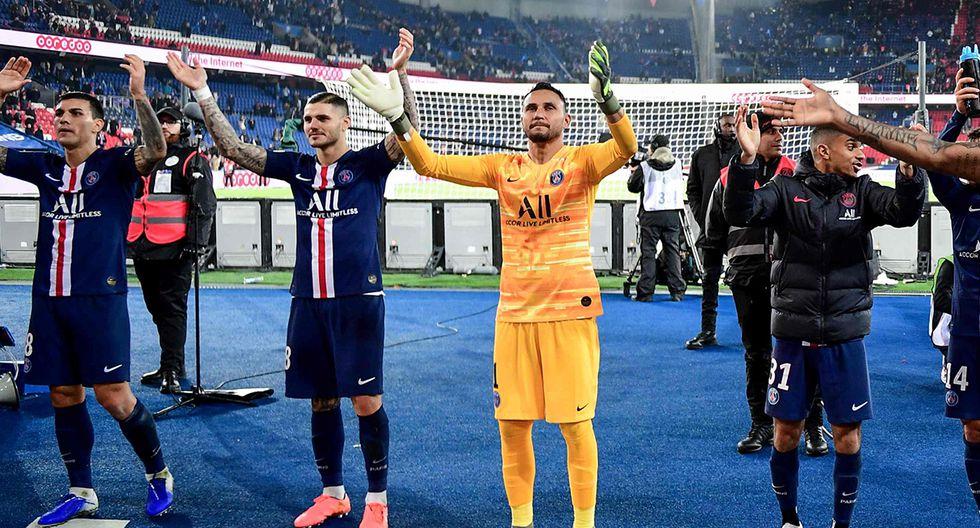 PSG busca la clasificación a los octavos de la Champions League. (Foto: AFP)