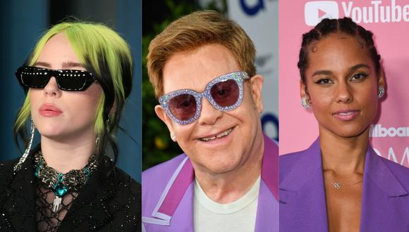 Elton John está organizando un concierto benéfico desde casa para subir los ánimos del público estadounidense. (Foto: AFP)