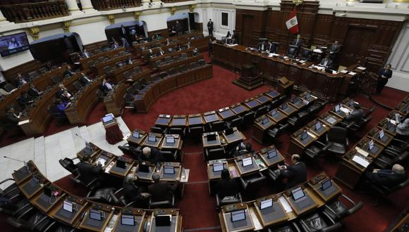 Congreso reanuda debate sobre la cuestión de confianza. (Anthony Niño de Guzmán / GEC)