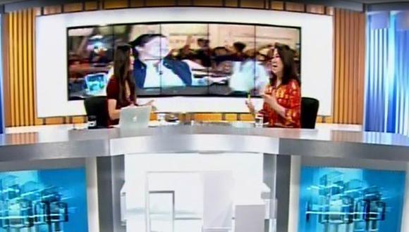 Martha Chávez y su fuerte intercambio de palabras con Karina Borrero.