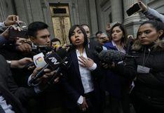 """Giulliana Loza: """"Invocamos a que los magistrados del TC  no se dejen presionar por estas maniobras"""""""
