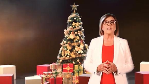 Mónica Delta, Jorge Benavides y Mathias Brivio protagonizan emotivo spot navideño. (Foto: Latina)