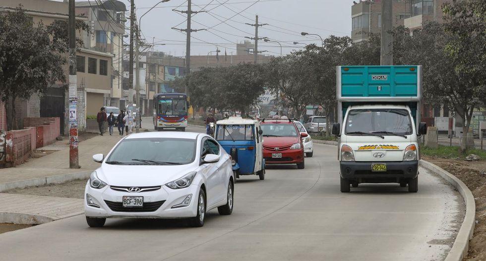 Las obras en la Av. Campoy se iniciaron el pasado 15 de mayo y, hasta el momento, cuentan con más del 40% de avance. (Municipalidad de Lima)