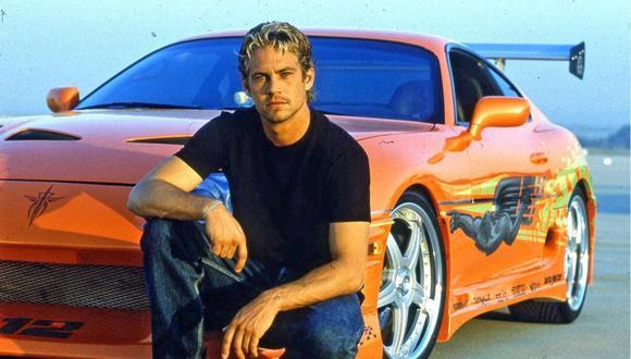 """Brian O'Conner le debía a Dom Toretto un auto de 10 segundos en """"Rápidos y Furiosos"""". (Foto: Instagram/Paul Walker)"""
