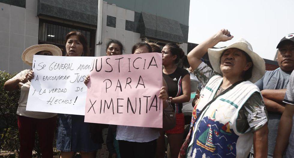 Los familiares de la niña piden que se haga justicia. (César Campos/Perú21)