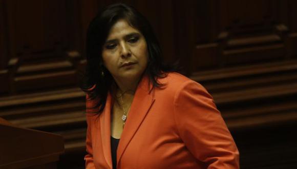 La jefa del gabinete, Ana Jara, debe demostrar su trabajo. (César Fajardo)