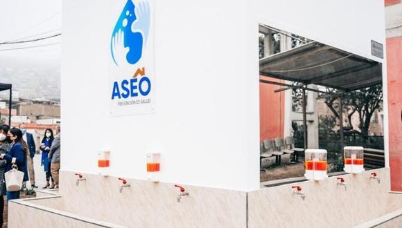 A través del programa ASEO se beneficiará a más de 40 mil alumnos de 26 colegios a nivel nacional.