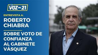 """Roberto Chiabra: """"La gente esperaba un cambio"""""""