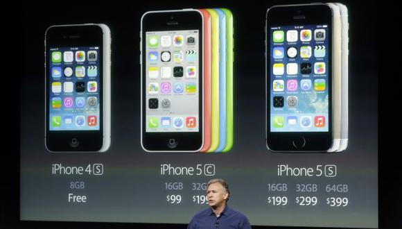 La presentación de los nuevos iPhone en Cupertino, California. (AP)