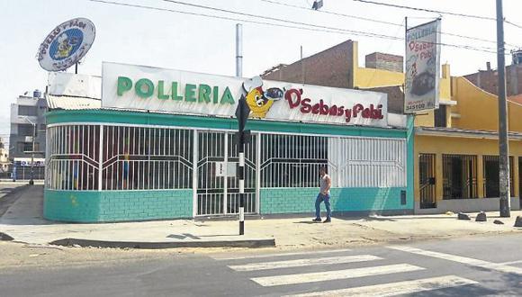 Según la Policía, fueron tres los facinerosos que ingresaron al local. (AlanBenites/Perú21)