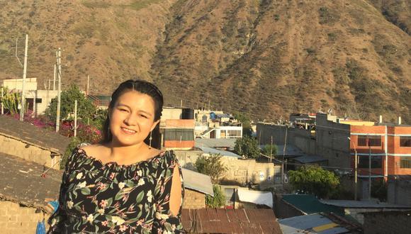 Yaritza Lagos es profesora de quechua y egresada de Ciencia Política en San Marcos.