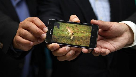 La prueba de la tecnología 4G se realizó en la sede de Movistar en Surquillo. (Difusión)