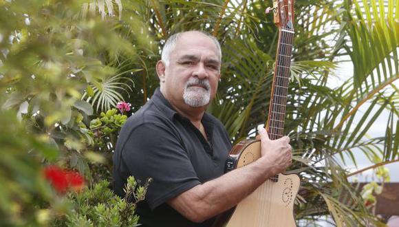 Lucho González, el guitarrista de Chabuca Granda.
