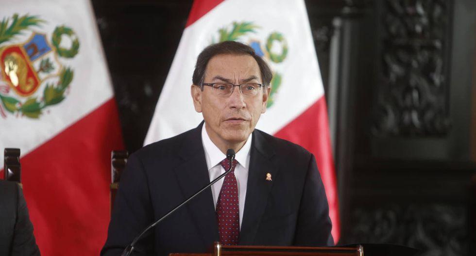 Martín Vizcarra convoca a pleno extraordinario para remover a todos los miembros del CNM. (Mario Zapata/Perú21)