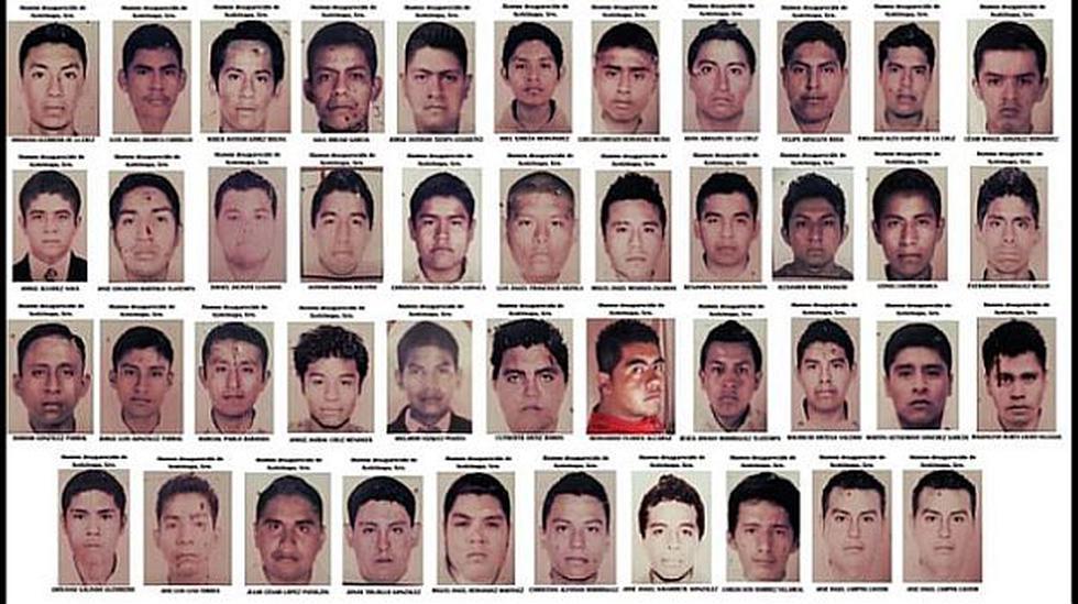Estos son los 43 estudiantes desaparecidos en Ayotzinapa, México. (GETTY)