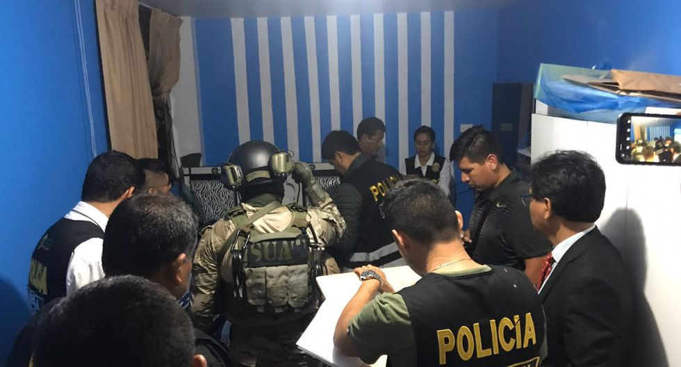 Autoridades intervinieron inmuebles en diferentes distritos de La Libertad. (Ministerio Público)