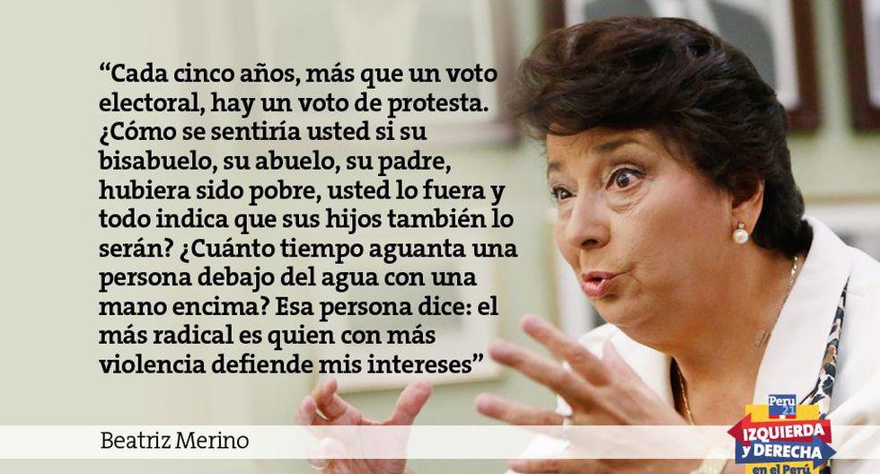 Beatriz Merino 10 Frases Imperdibles Sobre La Izquierda Y