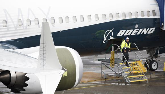 """""""En nombre de todo el equipo de Boeing, extendemos nuestras más sinceras condolencias"""", expresó la firma. (Foto: AFP)"""