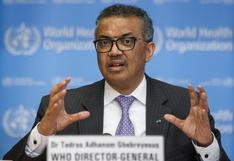"""Coronavirus: El jefe de la OMS quiere vacunaciones """"en todos los países en 100 días"""""""
