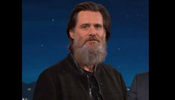 Carrey le restó importancia a las críticas por su poblada barba. (Composición)