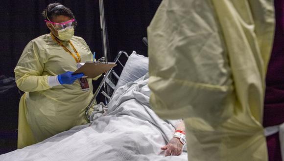 California es ahora el estado más golpeado por la pandemia con 61.260 muertos, seguido por Nueva York (51.830), Texas (49.818), Florida (34.696), Pensilvania (25.869), Nueva Jersey (25.301) e Illinois (24.056). (Foto: Joseph Prezioso / AFP)